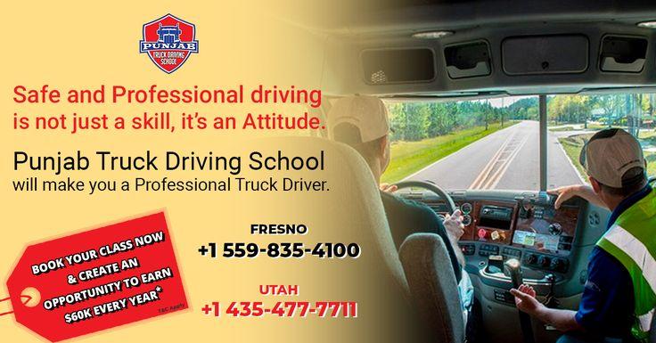 Truck Driving School in 2020 Driving school, Truck