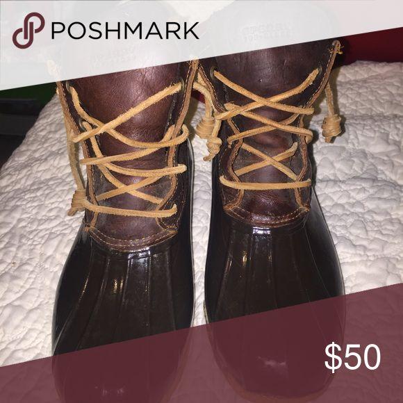 Women's Sperry Top-Sider duck boots Women's Sperry Duck Boots Sperry Top-Sider Shoes Winter & Rain Boots