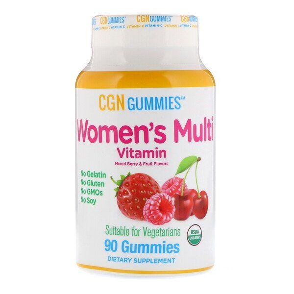 California Gold Nutrition Women S Multi Vitamin Gummies No Gelatin No Gluten Mixed Berry And Fruit Flavor 90 Gummies Glyuten Bez Glyutena Yagody