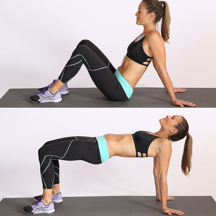 easy leg and glute exercise