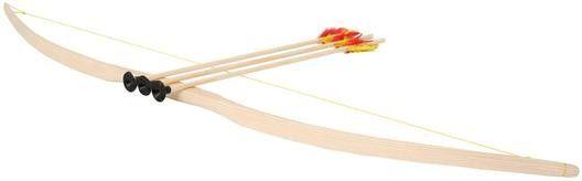 Bartl, hochwertiger Holzbogen Jugendbogen mit 3 Pfeilen Saugnapf Gummispitze ungefährlich | 311 / EAN:4260170060822