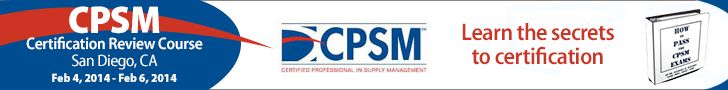 Learn the Secrets to Certification!  CPSM #Certification Review Course  Feb 4, 2014 - Feb 6, 2014 8:00 am - 5:00 pm San Diego, CA  More info here:http://cpsmtraining.com/events/cpsm-certification-review-course-sandiego-ca/