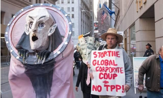 The Trans-Pacific Partnership treaty is the complete opposite of 'free trade' | The TPP would strip our constitutional rights, while offering no gains for the majority of Americans. It's a win for corporations.