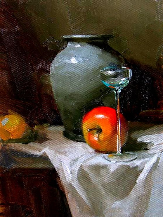 essays on still life paintings The physical terms of confronting a small painting are quite different from the   the unusual still-life objects in tim kennedy's work or the odd subjects in e m.
