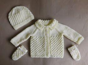 Danica Baby Hat ~ Newborn            Danika Baby Mittens ~ Newborn     Danika Baby Bootees ~ Newborn        Danika Newborn Baby H...