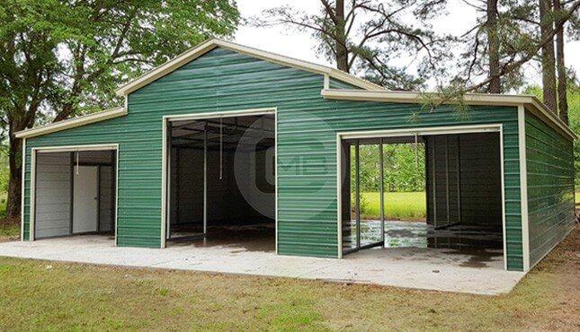 42x36x12 Carolina Barn Metal Building Prices Backyard Barn Prefab Barns