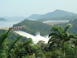The Akosombo Dam in Ghana. A great escape. Not far from where my mother is buried
