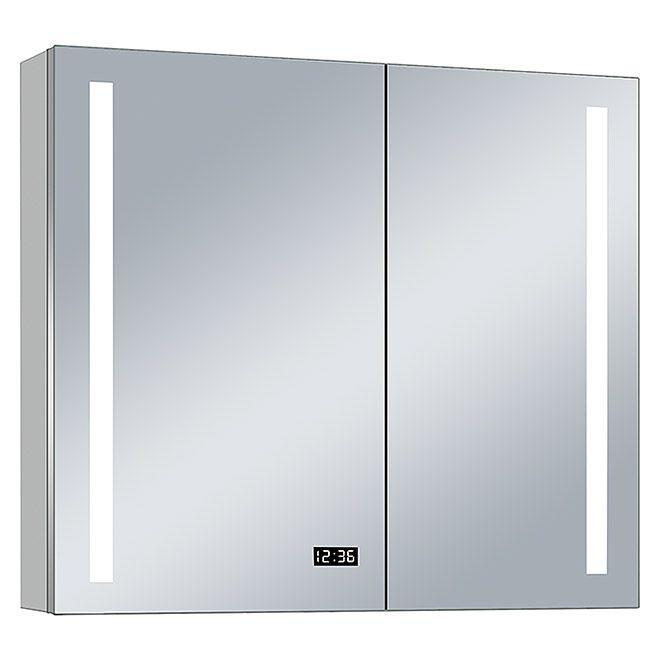 Led Spiegelschrank Aluminio Sun Spiegelschrank Spiegel Und Schrank