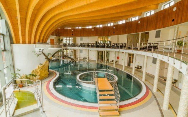Lázně Podhájska jsou oblíbeným relaxačním místem po celý rok