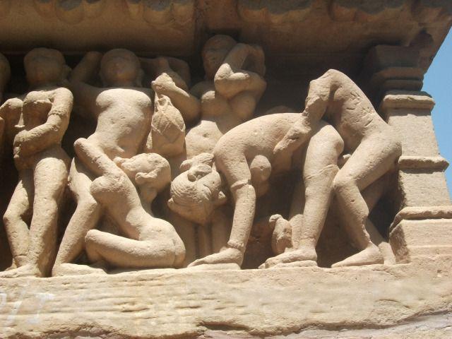 Khajuraho - sculpture