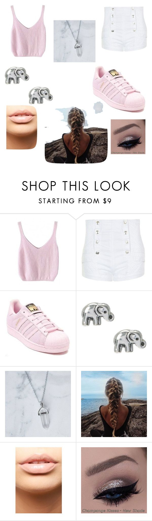 """Cute To Da Bone"" by milleoli000 ❤ liked on Polyvore featuring interior, interiors, interior design, home, home decor, interior decorating, WithChic, Pierre Balmain, adidas and MDMflow"