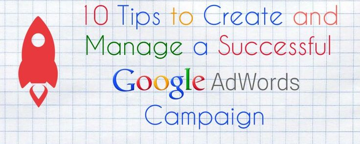 Great tips on how to create and manage a successful AdWords account!