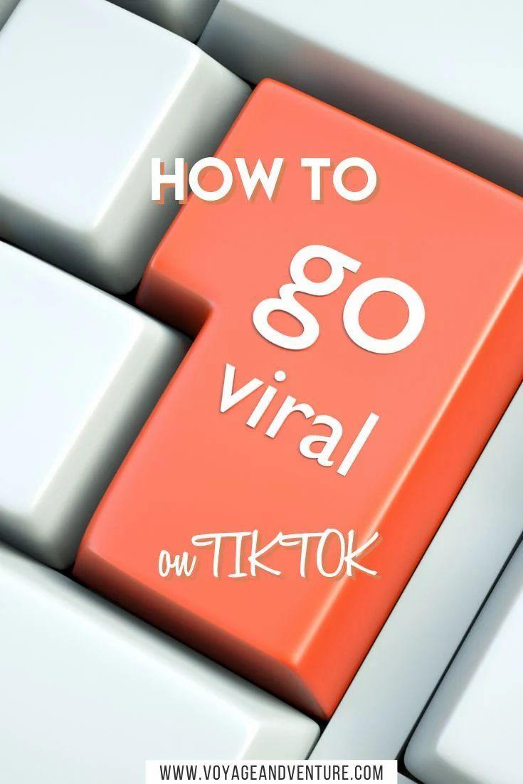 How To Go Viral On Tiktok Voyage Venture Viral Trending Songs Mini Lessons