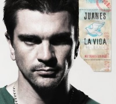 I enjoy listening to Juanes. Juanes is an awesome Colombian singer!