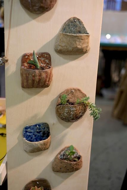 what to do with that left over clay!  Great kid project! slab clay texture hanging planter
