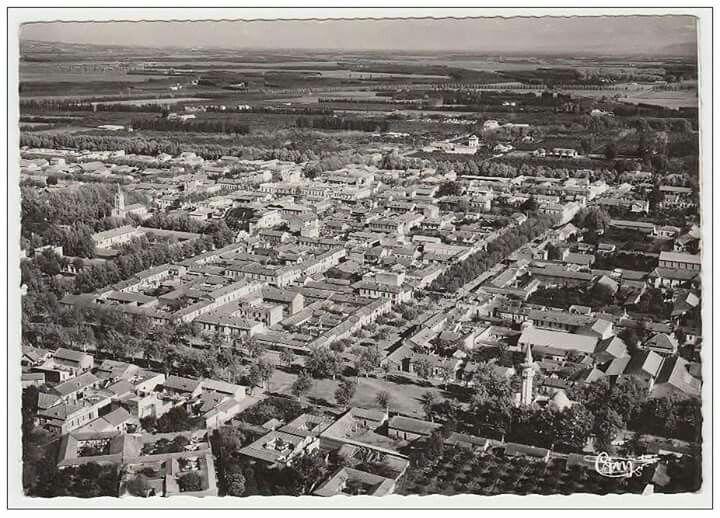 BOUFARIK - Vue Aérienne panoramique et la plaine de la Mitidja