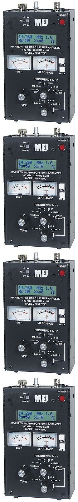 Other Ham Radio Equipment: Mfj-269C Swr Antenna Analyzer 530 Khz - 230 415-470 Mhz Continuous Coverage -> BUY IT NOW ONLY: $322.95 on eBay!
