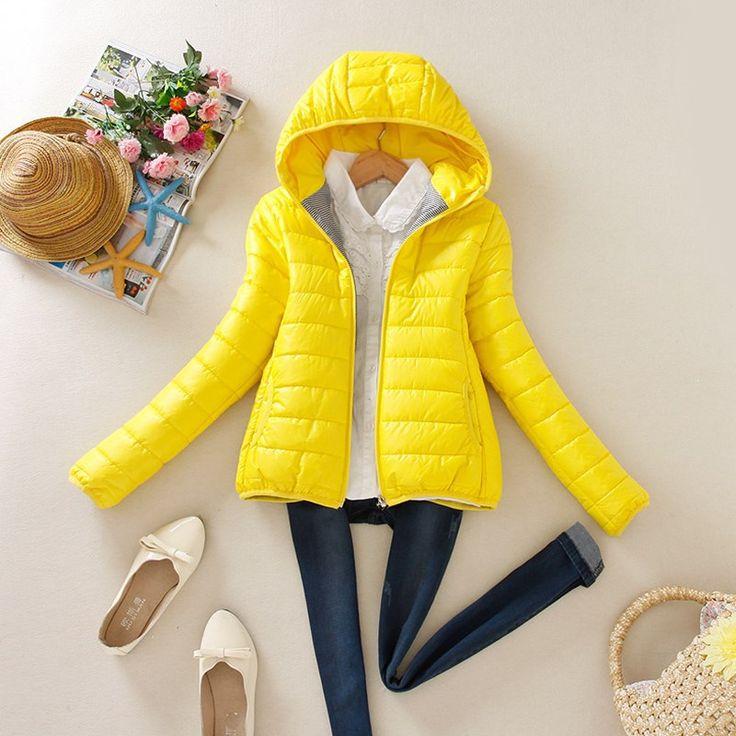 8 color 2016 Super Warm Winter Parka Jacket Coat Ladies Women Jacket Slim Short Padded Parkas for Women Winter Plus Size LBK010
