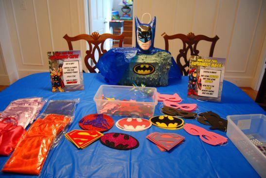 Superhero Making Capes