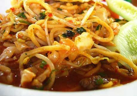 traditional noodle recipe from Aceh Indonesia