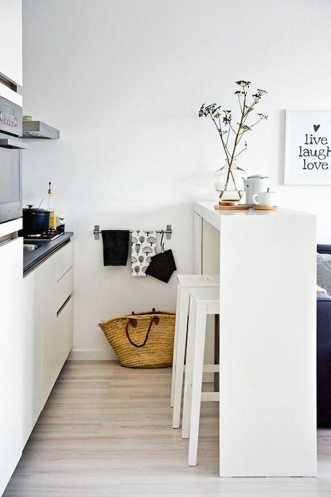 Las 25 mejores ideas sobre peque as cocinas abiertas en - Ideas para cocinas pequenas ...
