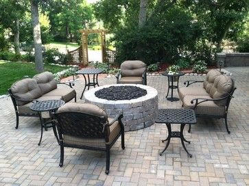 Hollandstone Patio And Firepit Seating In Littleton, Colorado   Traditional    Patio   Denver