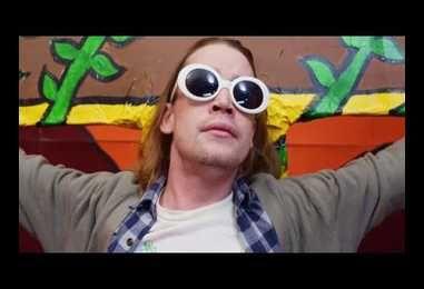 Macaulay Culkin Plays A Crucified Kurt Cobain In Father John Misty's Wacky AF Music Video! Watch!