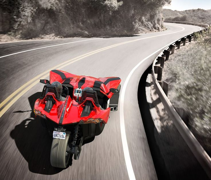 Polaris Industries released the Slingshot this past weekend. Legally this is classified as a motorcycle. Starting at $19,999 and boasting 173 hp, it looks pretty interesting. Is this on anyone's radar?
