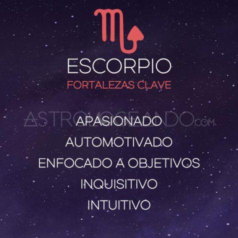 FORTALEZAS CLAVE ESCORPIO