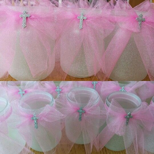 Diy baptism centerpieces baptism ideas pinterest for Baby girl baptism decoration ideas