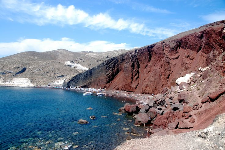 Red Beach, Santorini, Greece