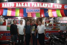 Bakso Bakar Pahlawan Trip, Malang