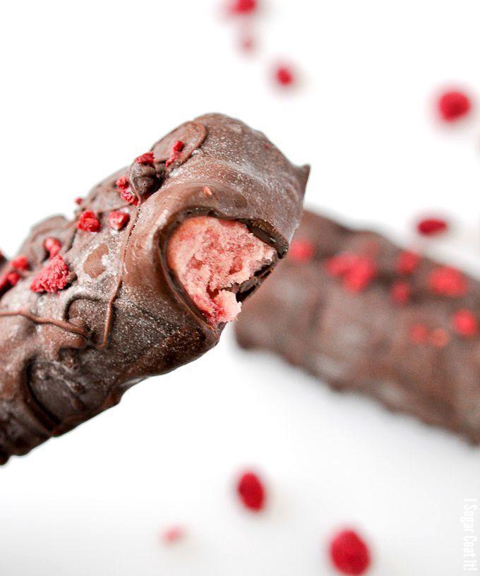 Pear Raspberry Chardonnay Ice Cream Bars + Yonanas Review