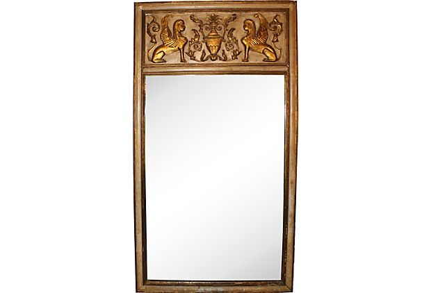 Italian Empire Gold Leaf Mirror on OneKingsLane.com