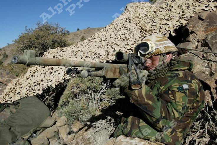 Military Royal Marine Commandos Sniper!