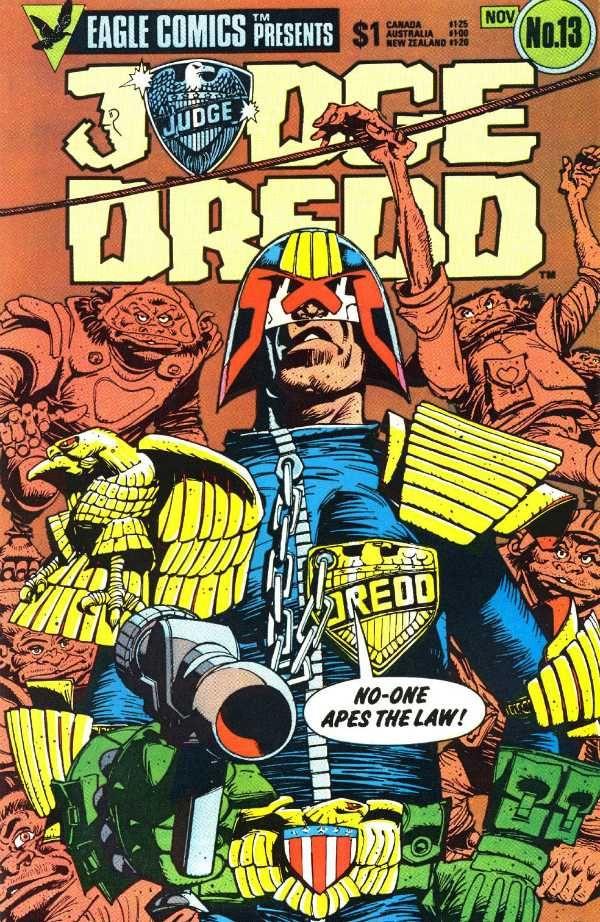 Judge Dredd Comic | Judge Dredd Eagle Comics: May 2013