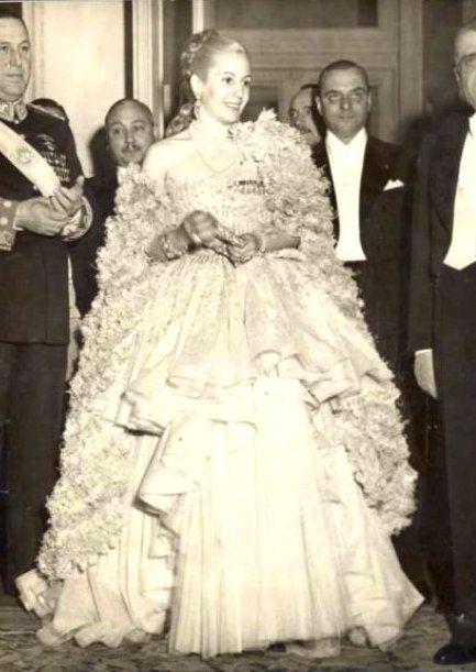 Эва Дуарте де Перон - первая леди Аргентины (1919-1952)