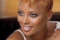 Cute Natural Black Hairstyles 2014 ~ http://www.haircutsforwomen.biz/beautiful-short-haircuts-for-dating/