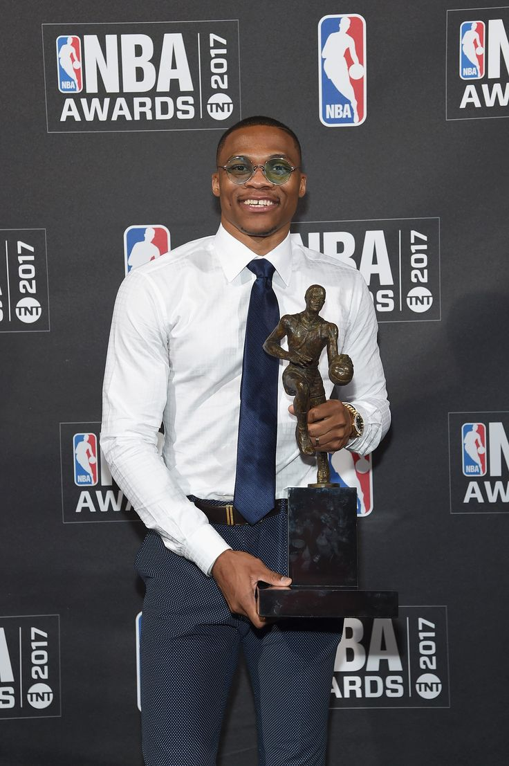 OKLAHOMA CITY - Oklahoma City Thunder's superstar Russell Westbrook has a new honor to add to his name. On Monday night, Westbrook, 28, was named the NBA's Most Valuable Player for the 2017 season. The All-Star beat out James Harden of the Houston Rockets and Kawhi Leonard of the San Antonio Spurs for the league's top honor.