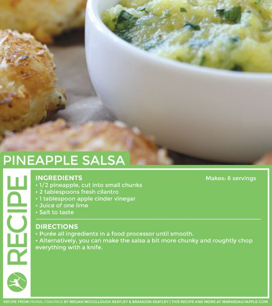 Coconut Shrimp Cakes & Pineapple Salsa