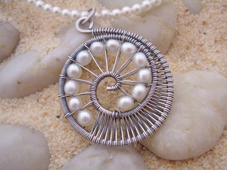 Nautilus Pendant Necklace. $68.00, via Etsy. - cool womens jewelry, womens discount jewelry, cheap womens costume jewelry