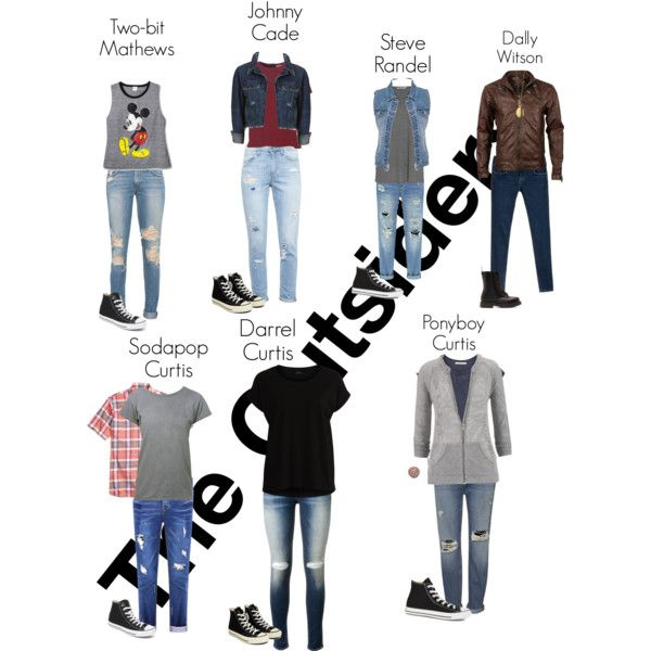The Outsiders by kassi470 on Polyvore