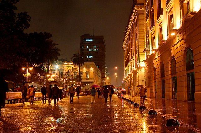Plaza de Armas de Stgo - Chile