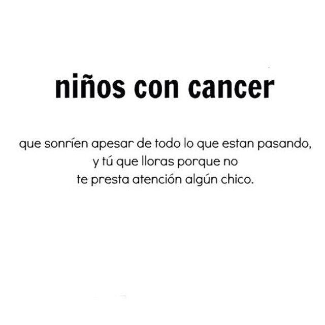 ADMIRABLE  NIÑOS CON CANCER