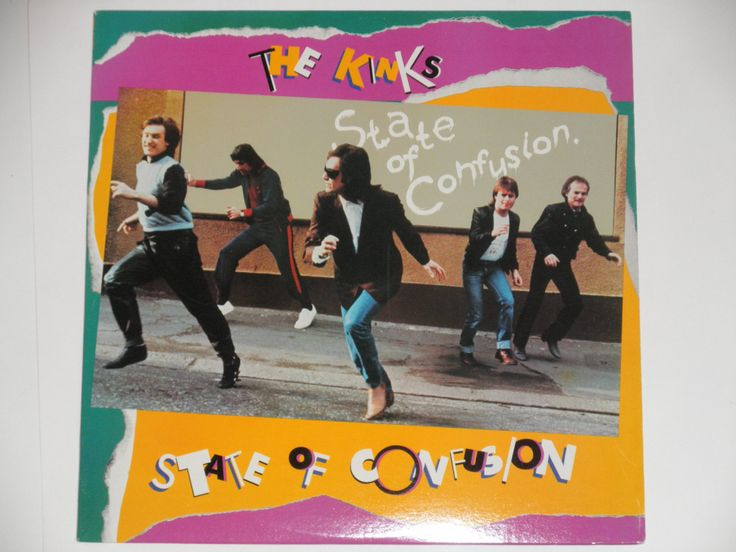 The Kinks - State of Confusion - Arista Records 1983 - Vintage Vinyl LP Record Album by notesfromtheattic on Etsy
