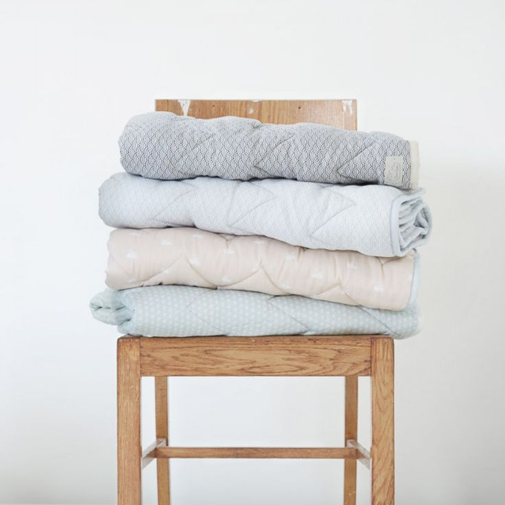 Gorgeous nursery baby blanket in Swan by popular Danish brand CAM CAM is now available online at designstuff.