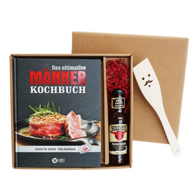 Geschenkbox das ultimative Männer Kochbuch