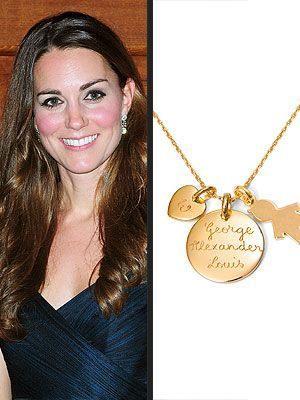 Kate Middleton's 'Mommy' Necklace Becomes a Bestseller
