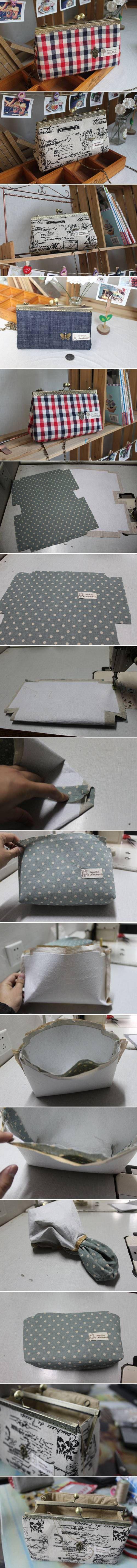 DIY Simple Handbag DIY Projects | UsefulDIY.com Follow Us on Facebook --> https://www.facebook.com/UsefulDiy