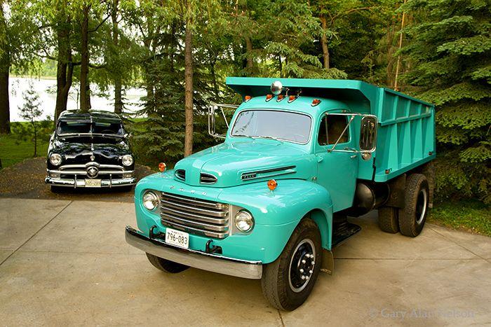 1950 Ford F-8 Dump Truck